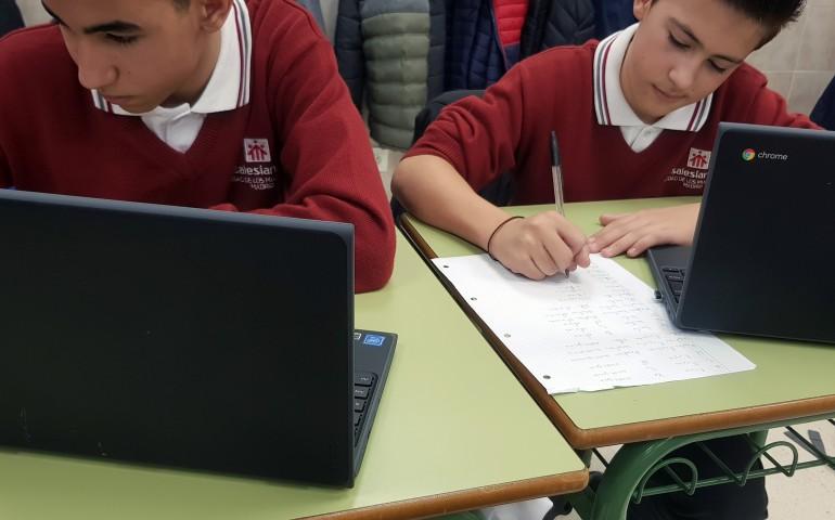 Una escuela que apuesta por la competencia digital docente