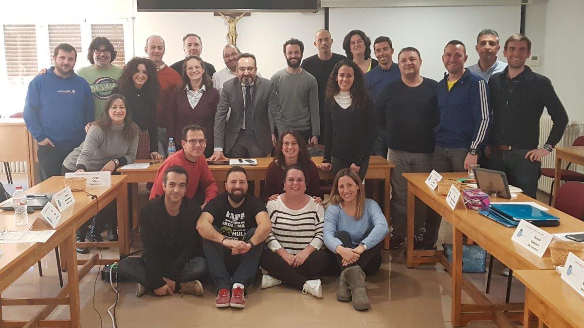Continúa la formación de los docentes de las Escuelas Salesianas